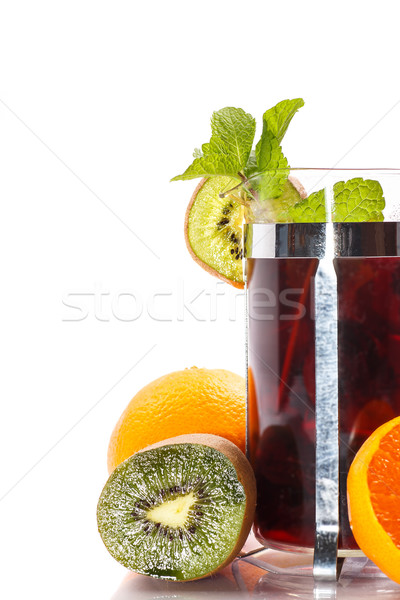 fruit tea Stock photo © Peredniankina