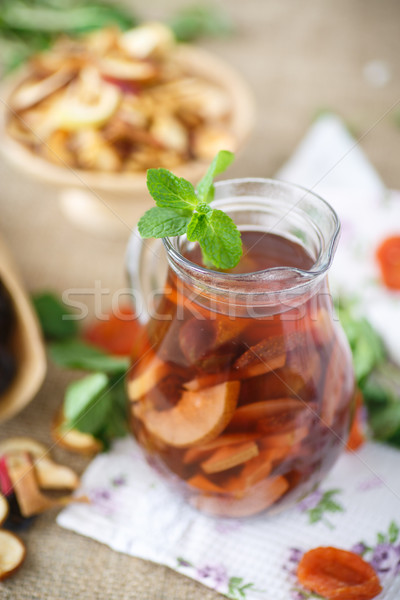 compote of dried fruits Stock photo © Peredniankina