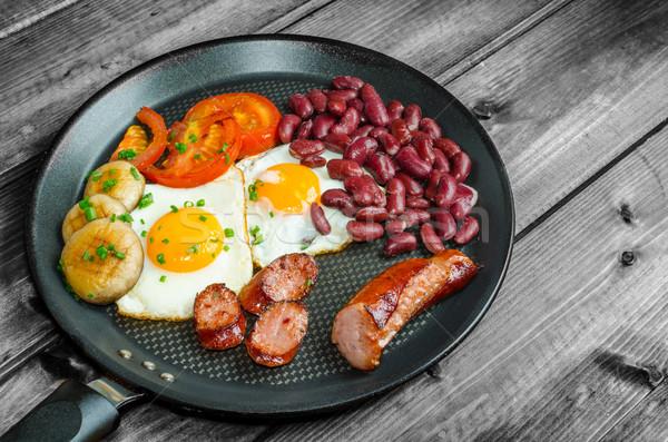 English breakfast Stock photo © Peteer