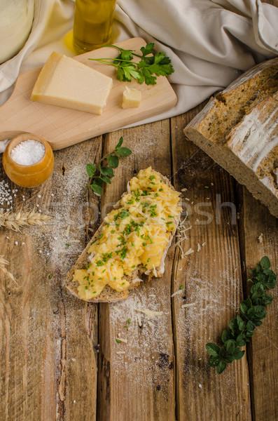 Stok fotoğraf: Ev · yapımı · ekmek · güzel · rustik
