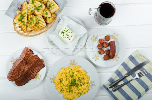 A hearty breakfast Stock photo © Peteer