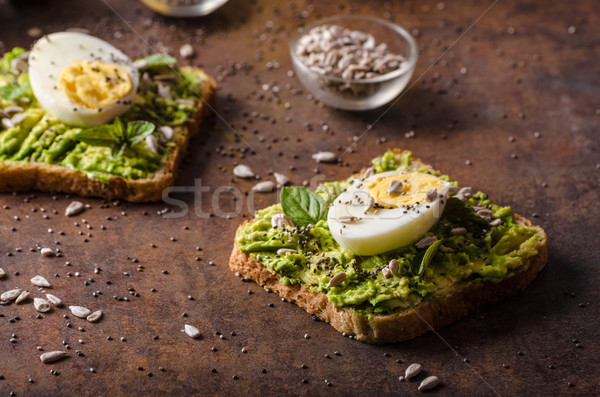 Wholegrain sandwich healthy Stock photo © Peteer