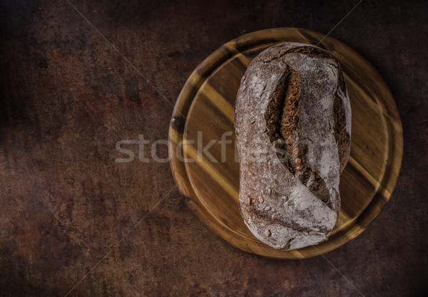 Stock photo: Wholegrain rustic bread