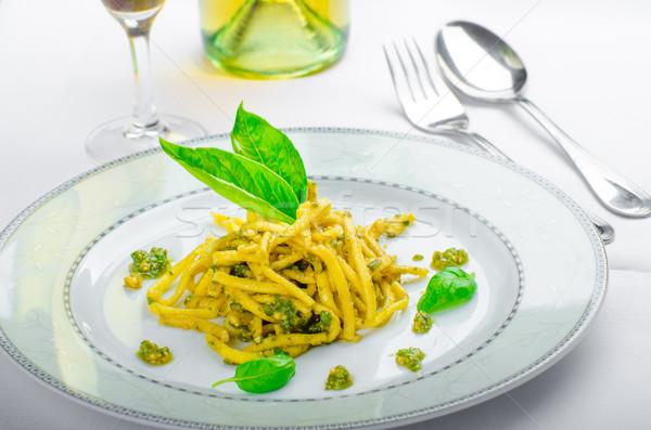 итальянский пасты базилик поздно урожай Сток-фото © Peteer