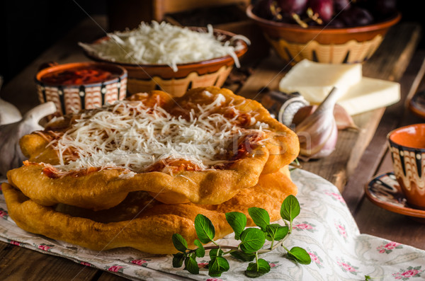 Geleneksel krep maya peynir Stok fotoğraf © Peteer