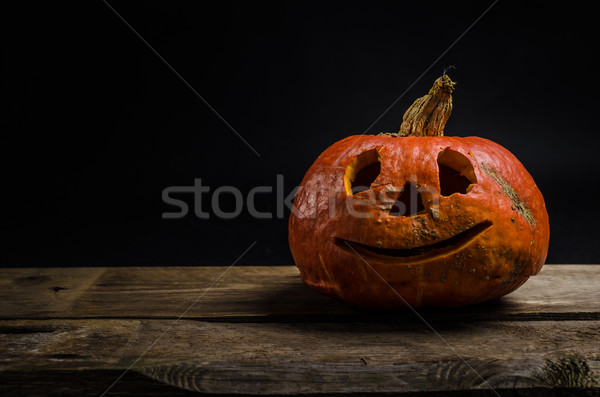 Halloween pumpkin Stock photo © Peteer