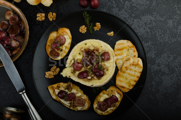 орехи виноград вкусный хрустящий Сток-фото © Peteer