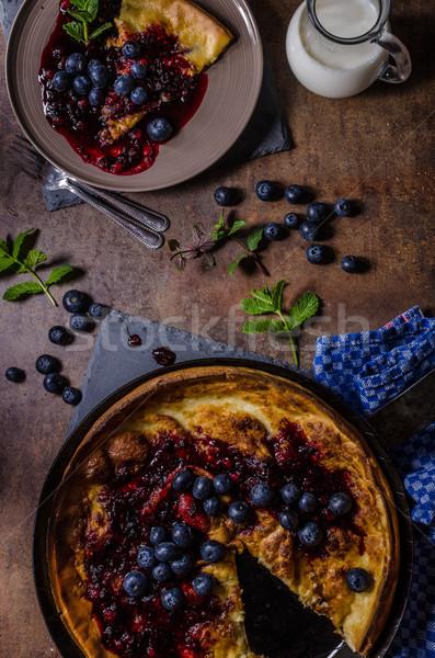 Dutch style pancake Stock photo © Peteer