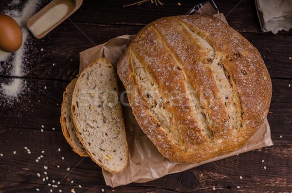 自家製 パン 製品 写真 選択フォーカス ストックフォト © Peteer