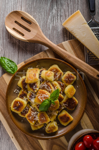 Ser zioła czosnku parmezan Zdjęcia stock © Peteer