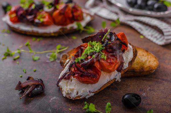 тоста растительное свежие сыра Сток-фото © Peteer