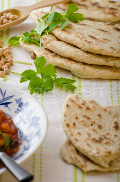 Lebanese bread, pita bread Stock photo © Peteer