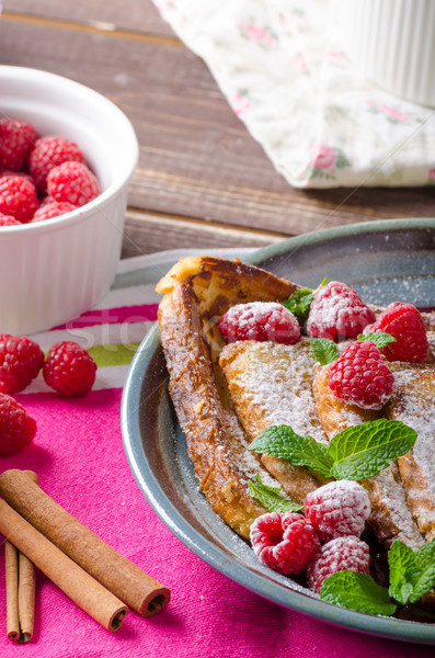 Stock photo: French toast with berries
