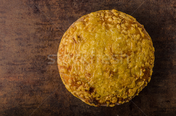 Cheese bread in oven Stock photo © Peteer