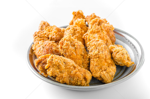 Fried chicken wings Stock photo © Peteer