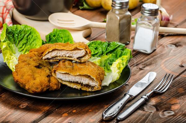 De pomme de terre veau repas originale délicieux poulet Photo stock © Peteer