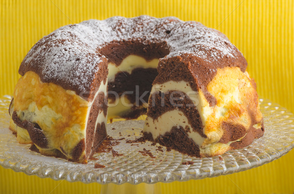 Cottage cheese cake Stock photo © Peteer