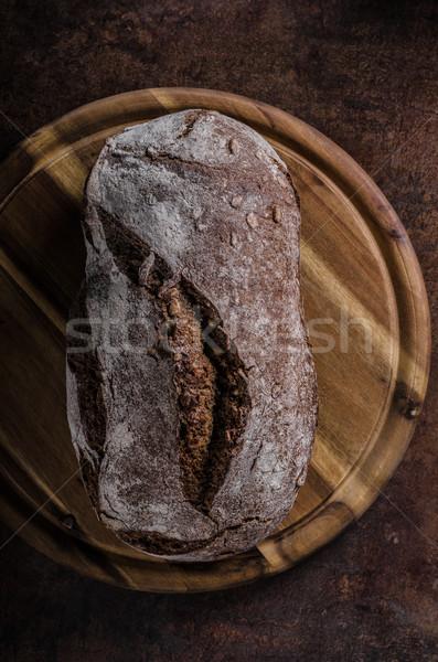 Rustikal Brot hausgemachte Produkt Foto Stock foto © Peteer