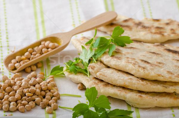 パン ピタ麻 いい 新鮮な 単純な 安い ストックフォト © Peteer