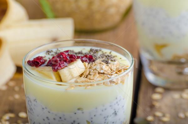 Bio healthy breakfast Stock photo © Peteer