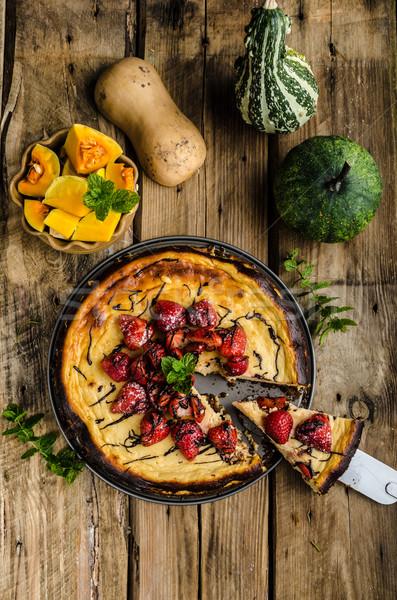 Pumpkin pie Stock photo © Peteer
