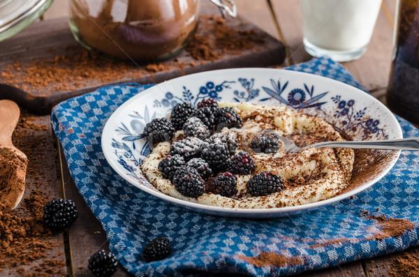Cseh eredeti bogyók cukor étel baba Stock fotó © Peteer