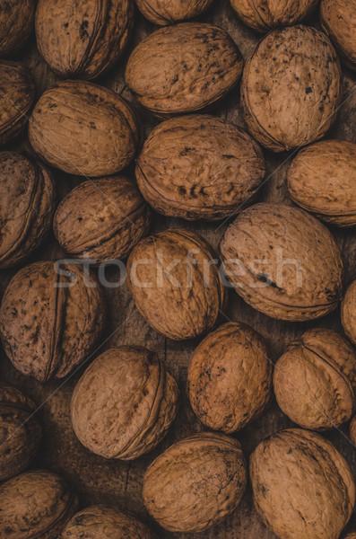 Produit photographie alimentaire stock noix bois Photo stock © Peteer