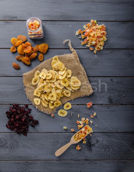 Stockfoto: Gedroogd · vruchten · gezonde · heerlijk · best · start