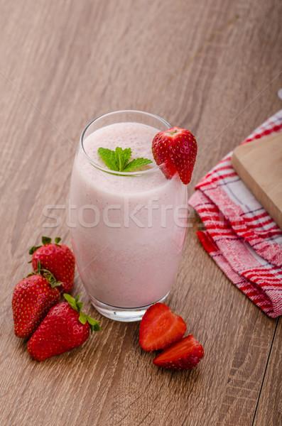 клубника льстец Nice чистой свежие плодов Сток-фото © Peteer