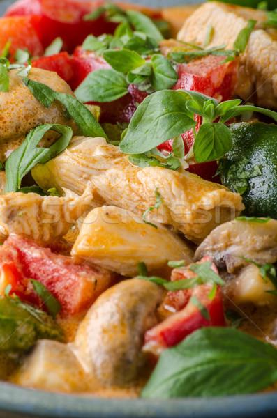 カレー 鶏 野菜 生鮮食品 食品 写真 ストックフォト © Peteer