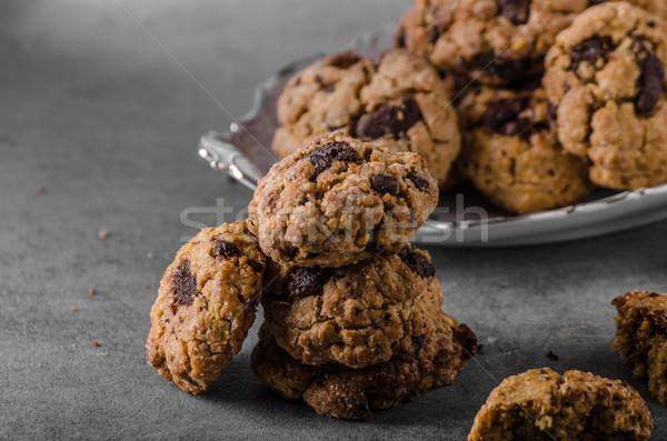 Chocolate chips cookies Сток-фото © Peteer