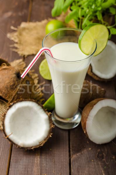 Stok fotoğraf: Içmek · lezzetli · tok · beslenme · vitaminler
