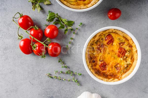 ミニ ソーセージ チェダー チーズ おいしい ストックフォト © Peteer