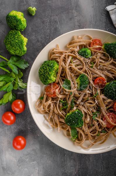 Broccoli pasta delish simple Stock photo © Peteer