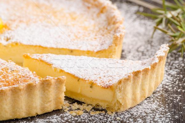 Delish leamon tart Stock photo © Peteer