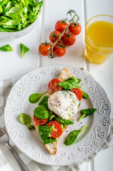 Fresh Healthy Breakfast Stock photo © Peteer