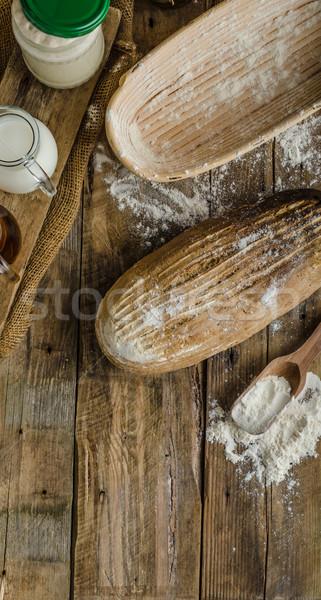 Sourdough bread with beer Stock photo © Peteer