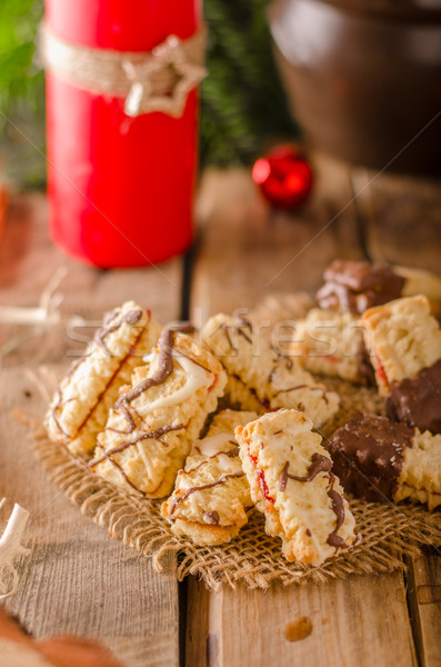Christmas candy, cookies Stock photo © Peteer