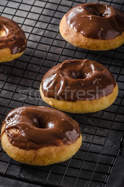 Homemade donuts delish Stock photo © Peteer