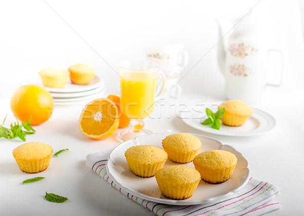 Fruit muffins Stock photo © Peteer