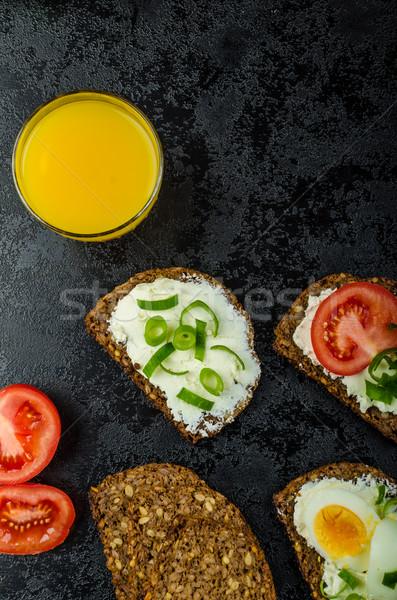 Healthy snack Stock photo © Peteer