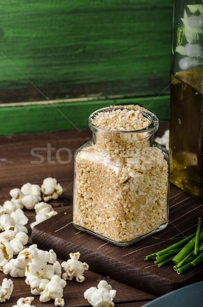 Homemade breadcrumbs Stock photo © Peteer
