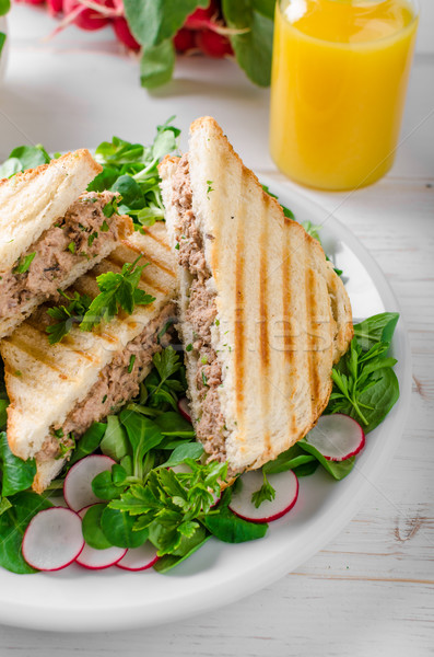 Tuna salad sandwitch Stock photo © Peteer