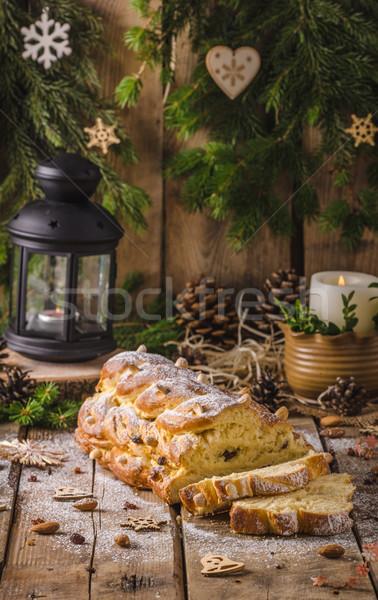 Traditional Czech Christmas cake Stock photo © Peteer