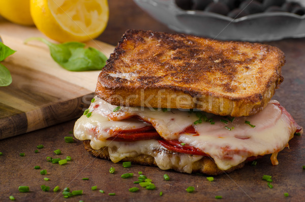 Baked french toast Stock photo © Peteer