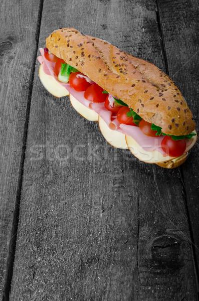 Rustic Baguette Stock photo © Peteer