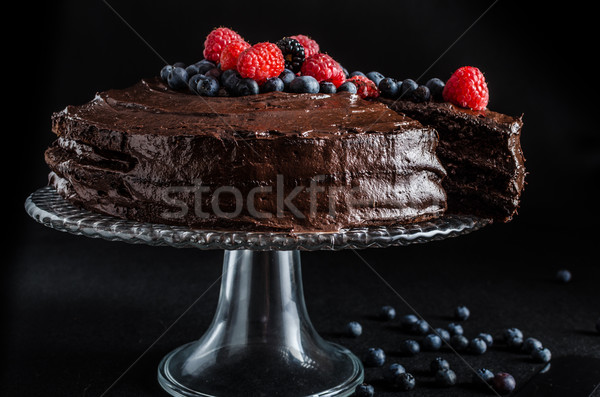Chocolate cake Stock photo © Peteer