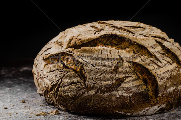 Homemade bread sourdough Stock photo © Peteer