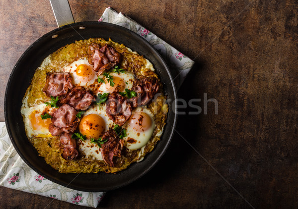 American Hash Browns potato Stock photo © Peteer