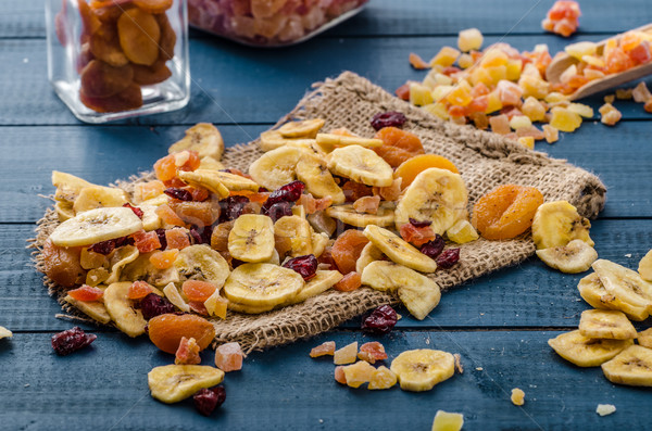 Dried fruits, healthy and delicious Stock photo © Peteer